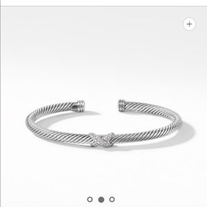 David Yurman Diamond Bracelet, 4mm